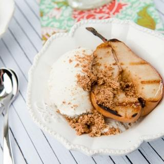 Grilled Amaretto Pears image