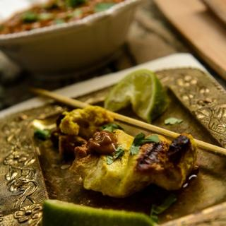 Related recipe - Grilled Chicken with Peanut Sauce