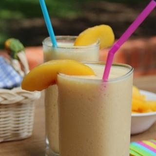 Peach Smoothie image