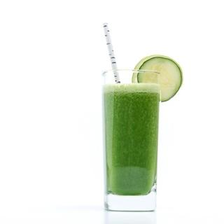 Kale, Cucumber and Cilantro Green Juice image