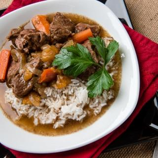 Slow Cooker Moroccan Spiced Lamb Stew image