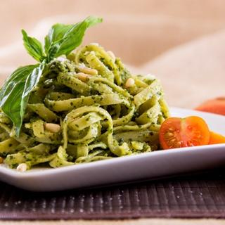 Pasta with Pesto Sauce image