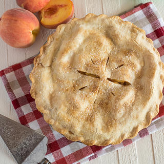 Fresh Peach Pie image