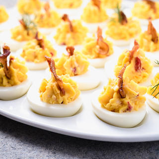 Pimento Cheese Deviled Eggs image