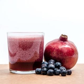 Pomegranate  Blueberry Juice image