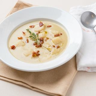 Slow Cooker Potato Leek Soup image