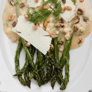 Related recipe - Roasted Asparagus Salad with Blue Cheese Vinaigrette