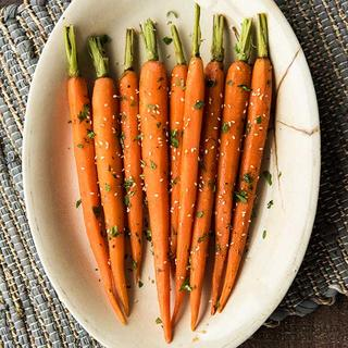Spicy Honey-Glazed Carrots image
