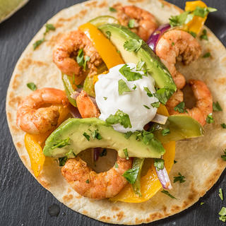 Sheet Pan Shrimp Fajitas image