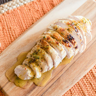 Sous Vide Turkey Breast with Orange-Rosemary Butter image