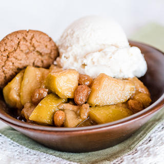Slow Cooker Apple Ginger Compote  image