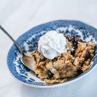 Slow Cooker Chocolate Cherry Pineapple Dump Cake image