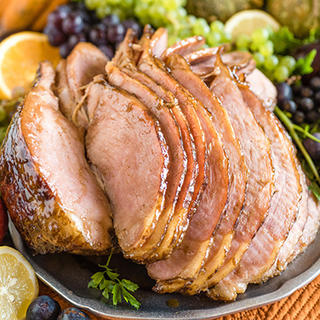 Slow Cooker Honey Glazed Ham image