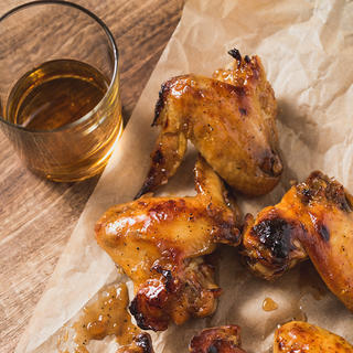 Slow Cooker Bourbon Maple Wings image