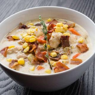 Slow Cooker Creamy Chicken and Corn Chowder image