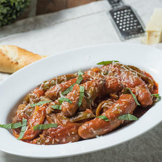 Slow Cooker Sausage and Peppers image