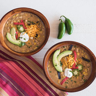 Slow Cooker White Turkey Chili image