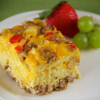 Slow Cooker Breakfast Sausage Casserole image