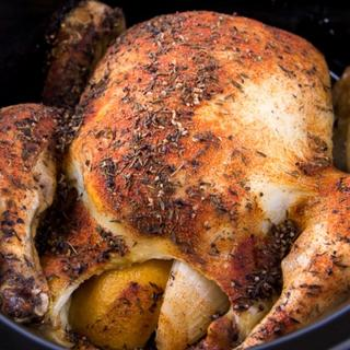 Slow Cooker Roasted Chicken image