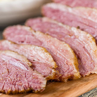 Slow Cooker Mustard Glazed Corned Beef image