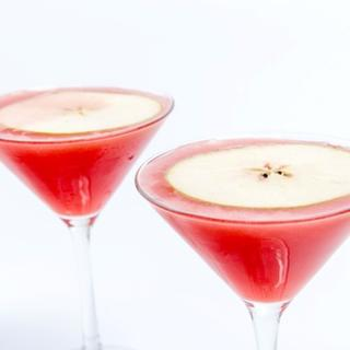 Sour Apple Martini image
