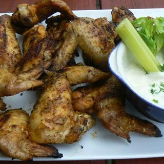 Spicy Grilled Chicken Wings image