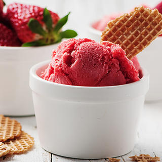 Strawberry Sorbet image