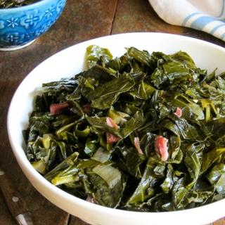 Slow Cooker Sweet and Spicy Collard Greens image