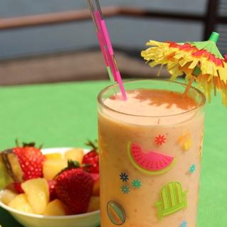 Tropical Fruit Smoothie image