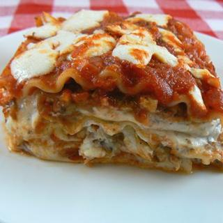 Vegetable Lasagna image