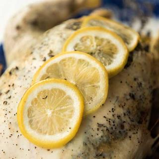 Slow Cooker Lemon Thyme Whole Chicken image